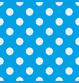 cutlets pattern seamless blue vector image vector image