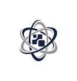digital science business education vector image