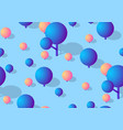 isometric seamless repeating background the vector image vector image