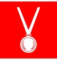 Medal simple sign vector image vector image