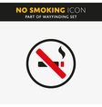 No smoking icon vector image