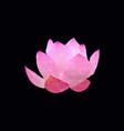 Polygonal lotos flower