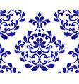 porcelain design pattern vector image