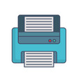 printer icon image vector image vector image