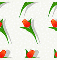 seamless flower pattern-01 vector image vector image