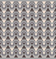 seamless stylish texture with triangle and grey vector image