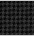 3d jigsaw tile seamless pattern black 002 vector image vector image