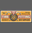 auto service and tire fitting spanner and wrench vector image vector image