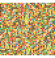 Background with colored squares vector image vector image