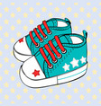 childrens sport shoes baby vector image