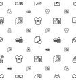 college icons pattern seamless white background vector image vector image