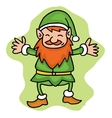 Elf style collection Christmas theme vector image vector image