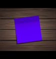 modern square sticky note vector image