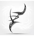 Sharp tribal tattoo vector image vector image