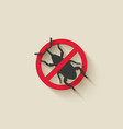 weevil icon insect pest vector image vector image