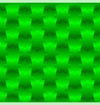 3d jigsaw tile seamless pattern green 001 vector image vector image
