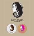Beauty Hair Saloon vector image