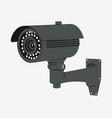 cctv camera security surveillance system vector image vector image
