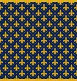 fleur de lis lily texture vector image
