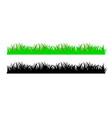 green lawn grass texture vector image vector image