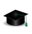 Icon of graduates vector image