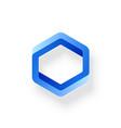 impossible shape web design element vector image