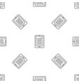 reading device pattern seamless vector image vector image