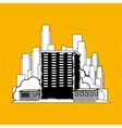 residential icon design vector image vector image