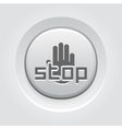 Restricted Area Icon Flat Design vector image