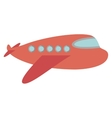 travel airplane windows and wing vector image vector image