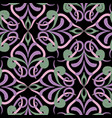 vintage floral paisley seamless pattern colorful vector image