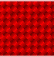 3d jigsaw tile seamless pattern red 002 vector image vector image