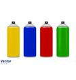 aerosol paint in vector image vector image