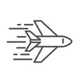 fast plane transport cargo shipping related vector image