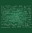math theory mathematics calculus on class vector image