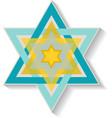 Star David vector image