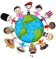 earth multicultural children