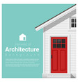 elements architecture background vector image vector image