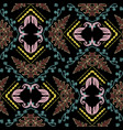 embroidery baroque seamless pattern tapestry vector image vector image