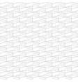 Geometric seamless pattern and background linear vector image