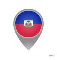 haiti point vector image vector image
