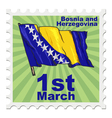 national day of Bosnia and Herzegovina vector image vector image