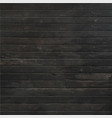old timber wood wall floor painted black vector image