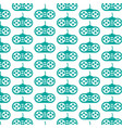 pattern background game controller icon vector image