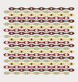 retro circles textura vector image