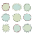 set of frames vector image vector image