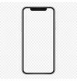 smartphone mockup cellphone frame vector image