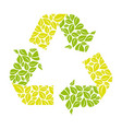 symbol reuse reduce and recycle icon vector image vector image