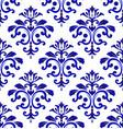 tile pattern damask style vector image vector image