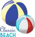 Classic Beach vector image vector image